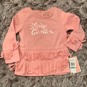 Juicy Couture long sleeve sweater top